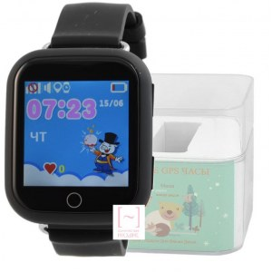 GPS Smart Kids Watch FW03T черный корпус