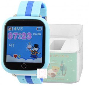 GPS Smart Kids Watch FW03T голубой корпус
