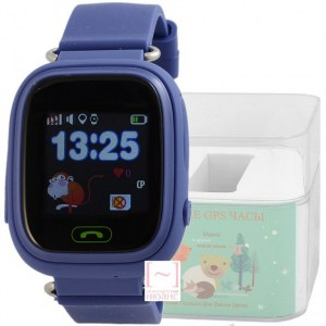 GPS Smart Kids Watch FW01T синий корпус
