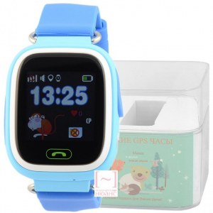 GPS Smart Kids Watch FW01T голубой корпус