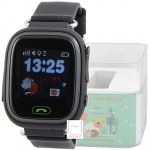 GPS Smart Kids Watch FW01T черный корпус