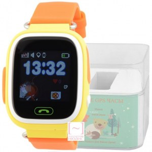 GPS Smart Kids Watch FW01T желтый