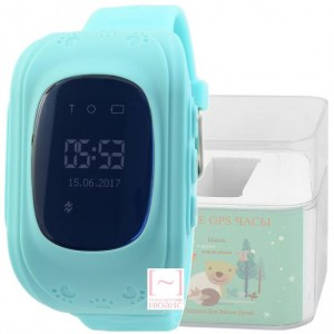 GPS Smart Kids Watch FW01S голубой корпус