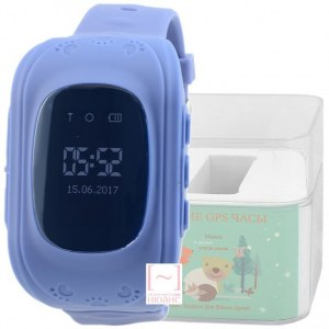 GPS Smart Kids Watch FW01S синий корпус
