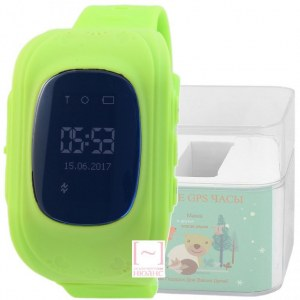 GPS Smart Kids Watch FW01S зеленый корпус