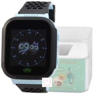 GPS Smart Kids Watch FW04T голубой корпус