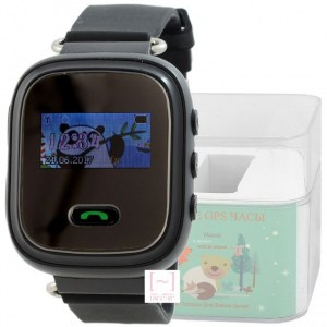 GPS Smart Kids Watch FW03C черный корпус