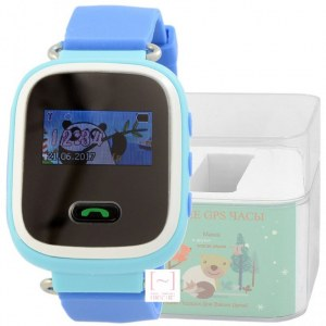 GPS Smart Kids Watch FW03C голубой корпус