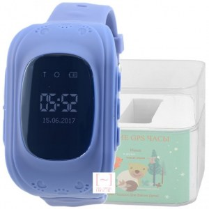 GPS Smart Kids Watch FW01 синий корпус