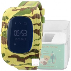 GPS Smart Kids Watch FW01 корпус хаки