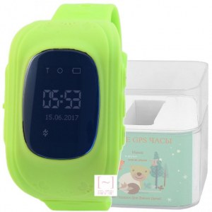 GPS Smart Kids Watch FW01 зеленый корпус