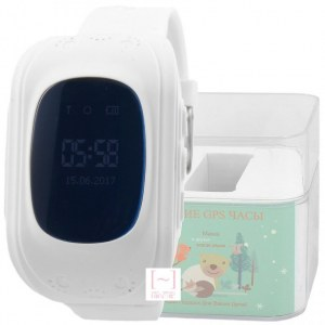 GPS Smart Kids Watch FW01 белый корпус